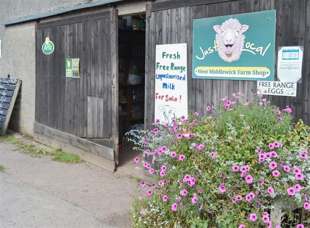 Farm shop available on-site