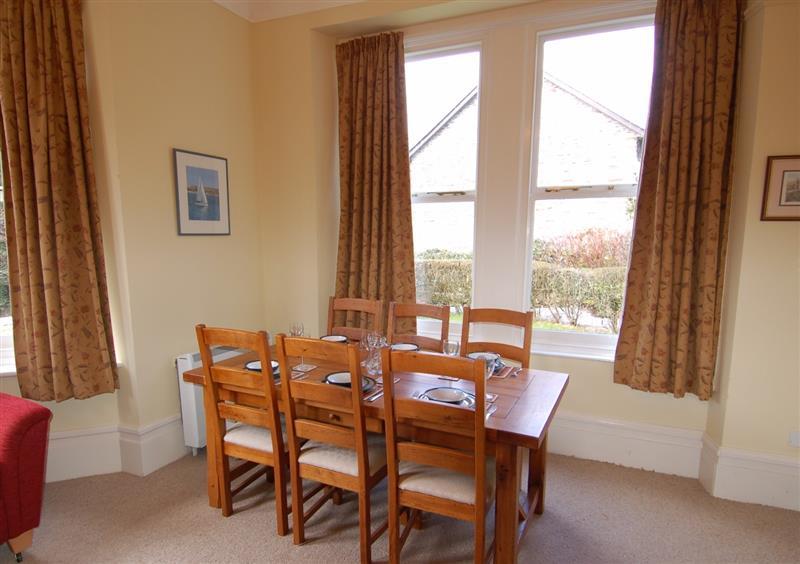 Dining room at West Vane, Ugborough, Devon