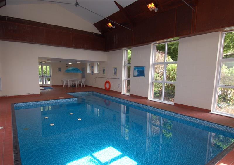 Indoor pool at West Vane, Ugborough, Devon