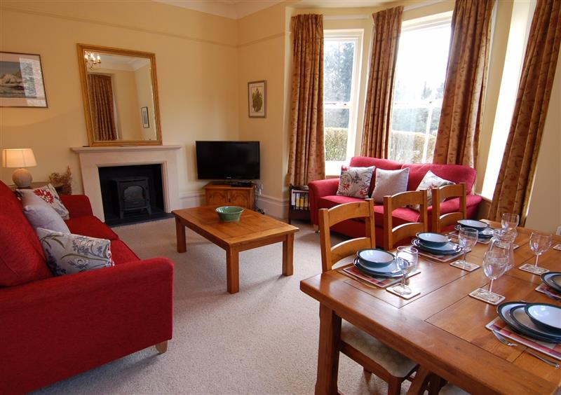 Living room at West Vane, Ugborough, Devon
