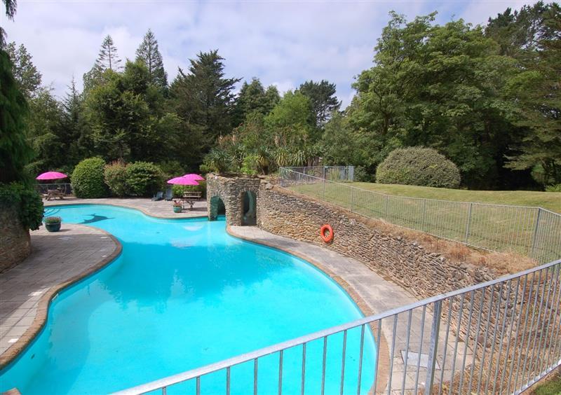Swimming pool (photo 2) at West Vane, Ugborough, Devon