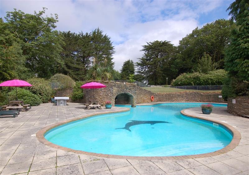 Swimming pool at West Vane, Ugborough, Devon