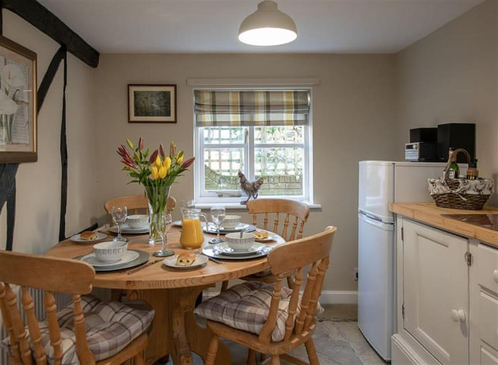 Dining area at West View in Dickleburgh, near Diss, Norfolk