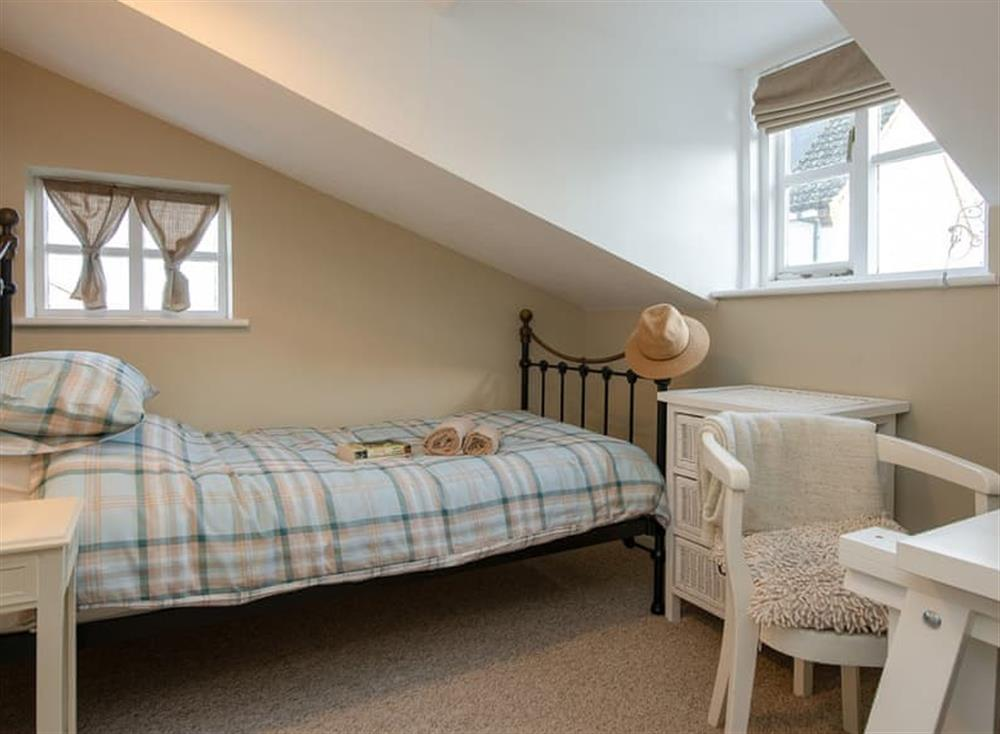 Double bedroom at West View in Dickleburgh, near Diss, Norfolk