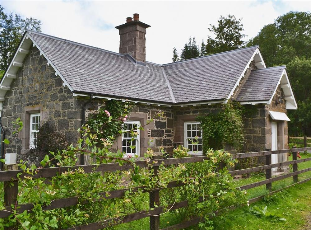 Exterior at Westerton Lodge in Crieff, Perthshire., Great Britain