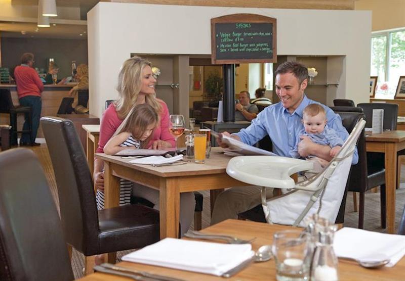 Restaurant at Westholme Lodges in Yorkshire, North of England