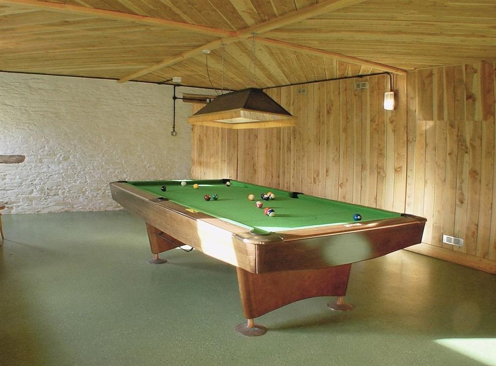 Games room at Foxglove,
