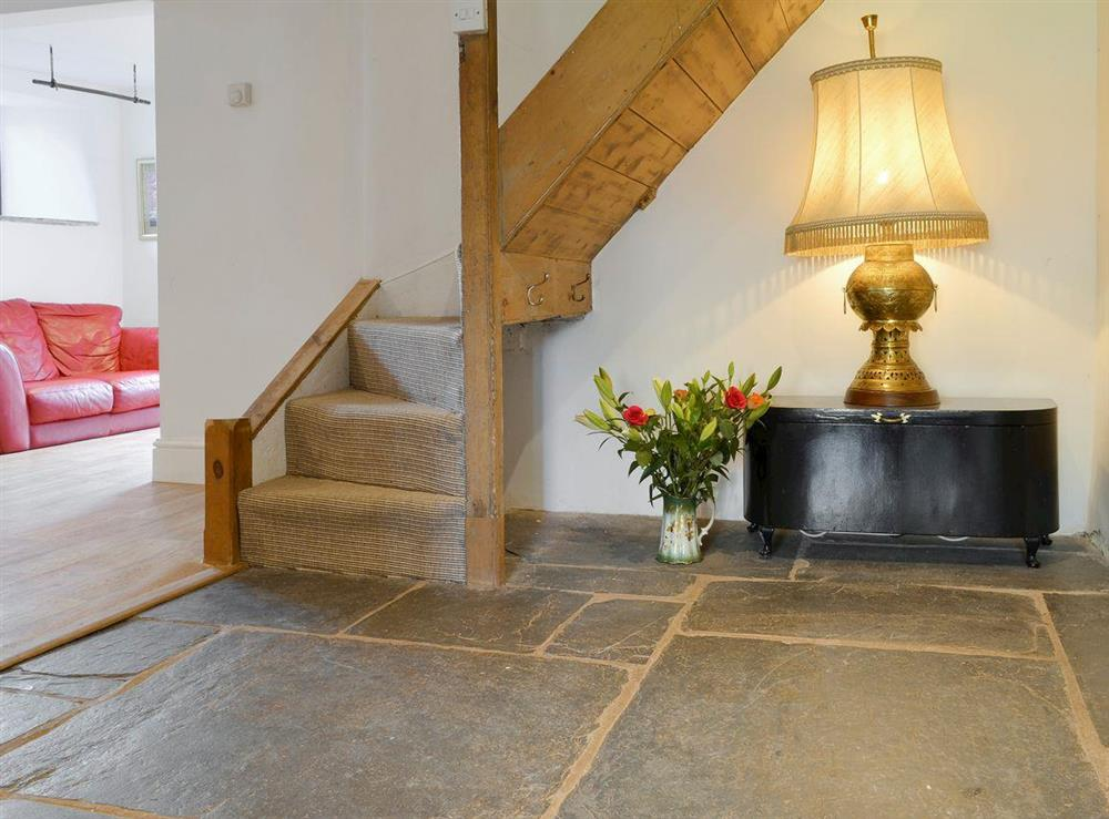 Characterful hallway at Mad Nelly Cottage,