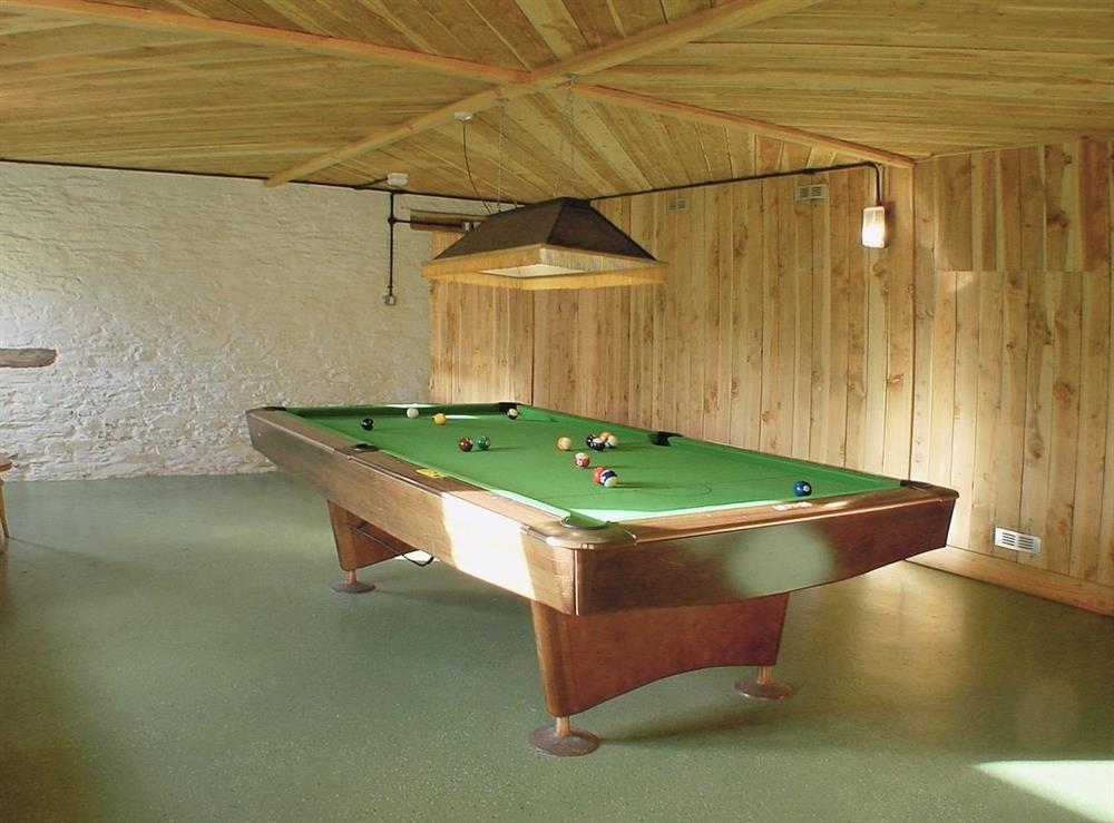 Games room at Mad Nelly Cottage,