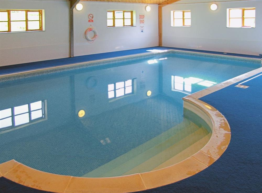 Swimming pool at Mad Nelly Cottage,