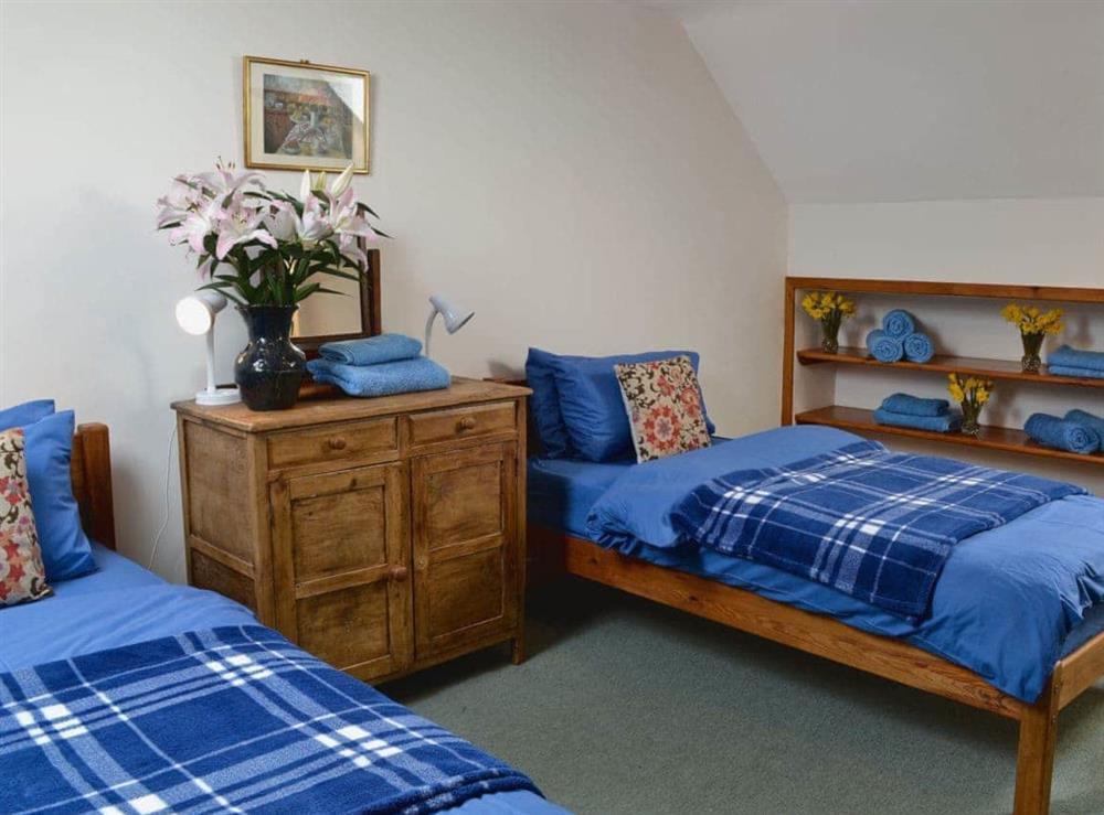 Twin bedroom at Poppy,