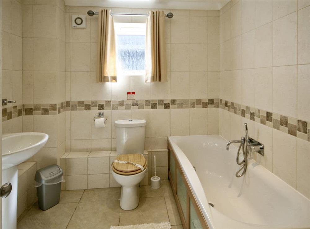 Bathroom at Wherrymere in Norwich, Norfolk
