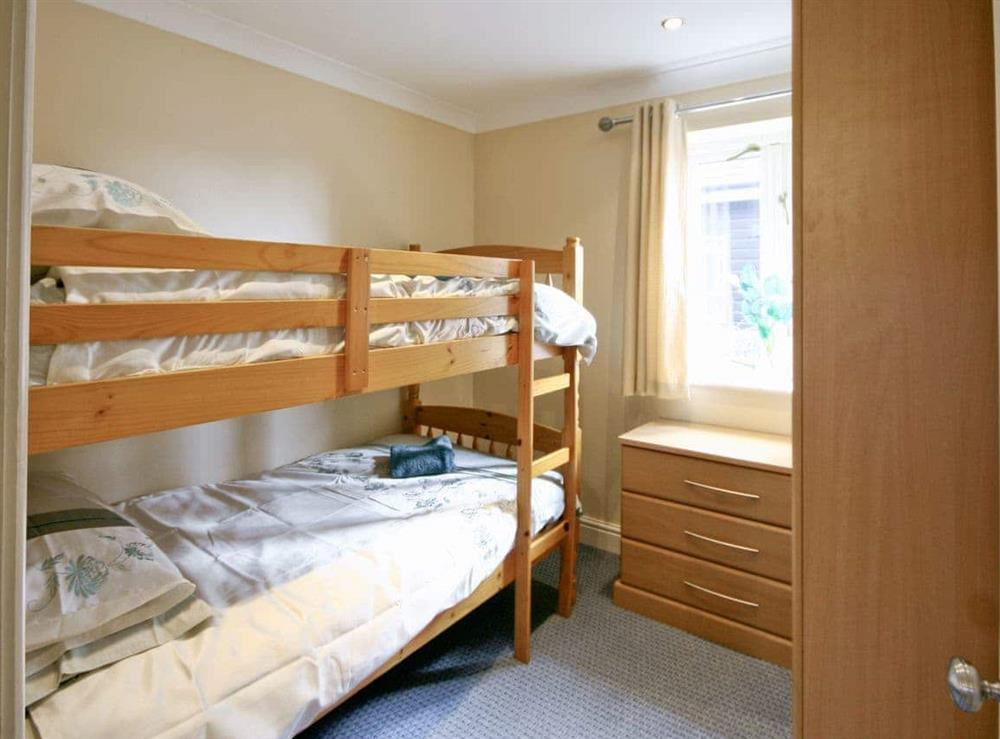 Bunk bedroom at Wherrymere in Norwich, Norfolk