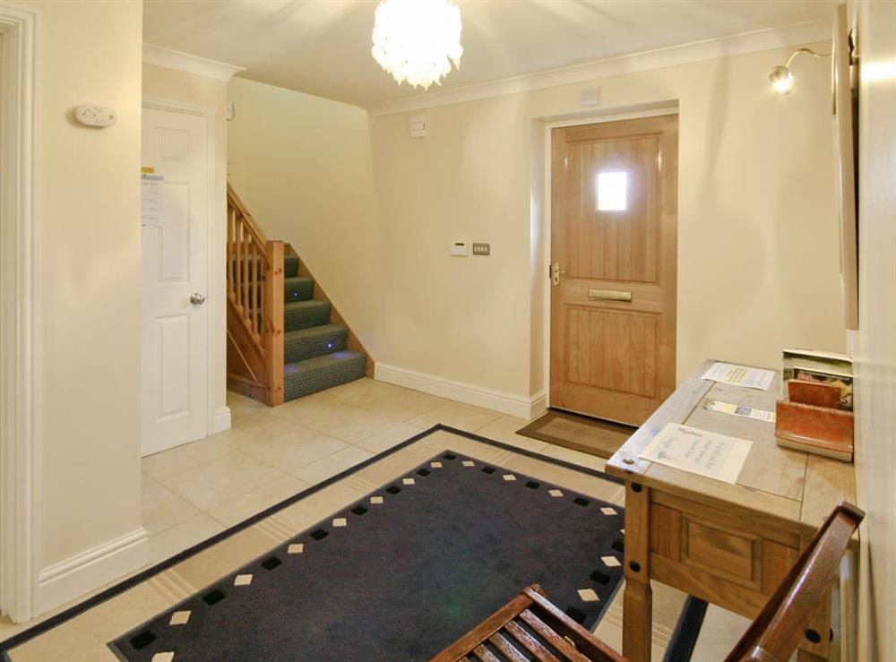 Hallway at Wherrymere in Norwich, Norfolk