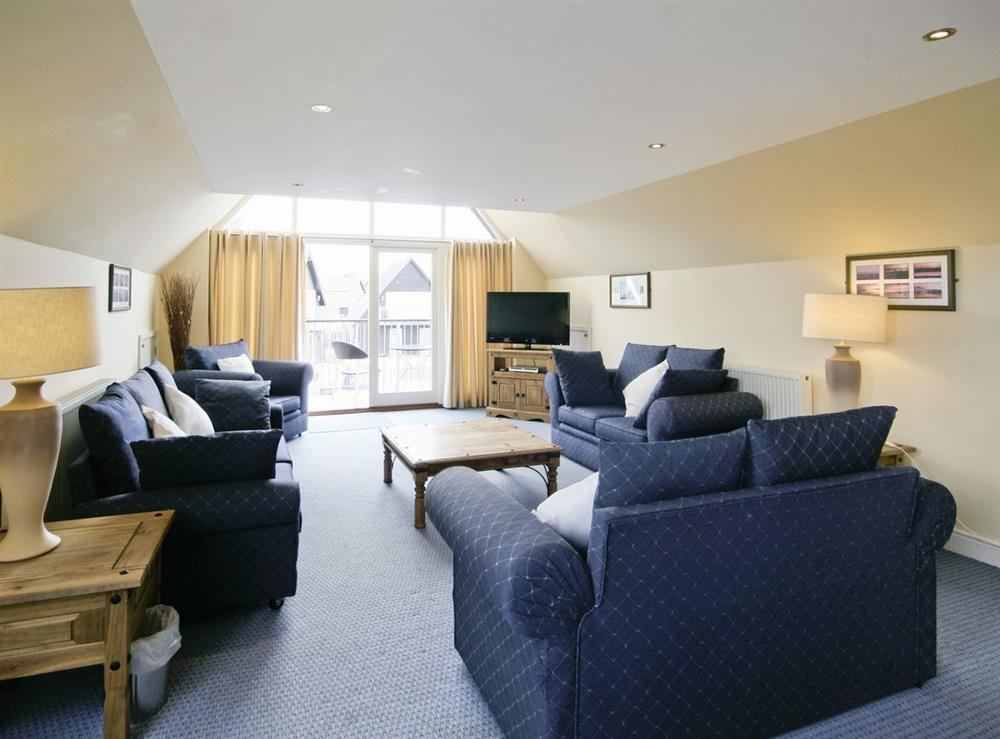 Open plan living/dining room/kitchen at Wherrymere in Norwich, Norfolk