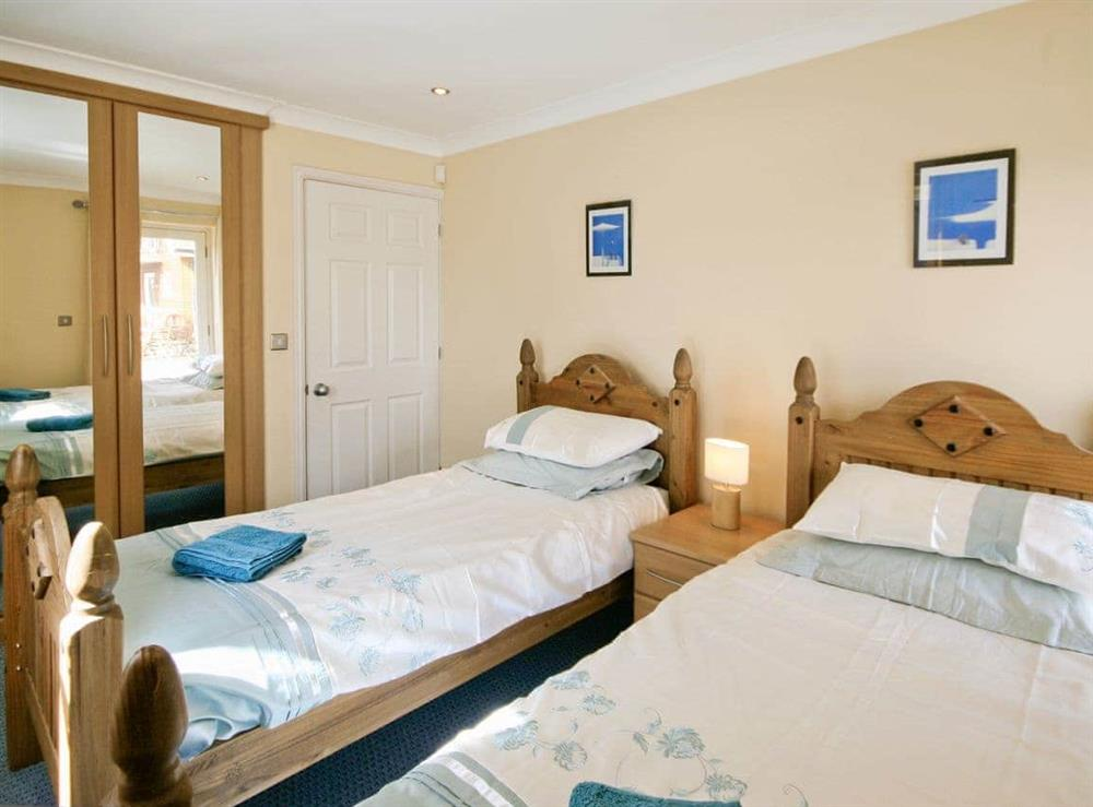 Twin bedroom at Wherrymere in Norwich, Norfolk