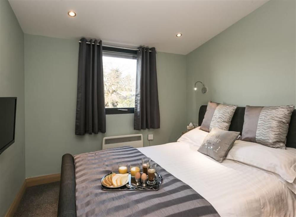 Double bedroom at Whispering Reeds in Horning, near Wroxham, Norfolk