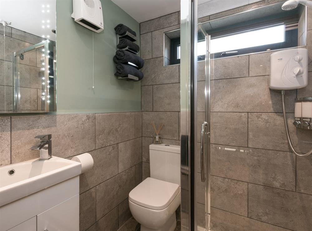 Shower room (photo 2) at Whispering Reeds in Horning, near Wroxham, Norfolk