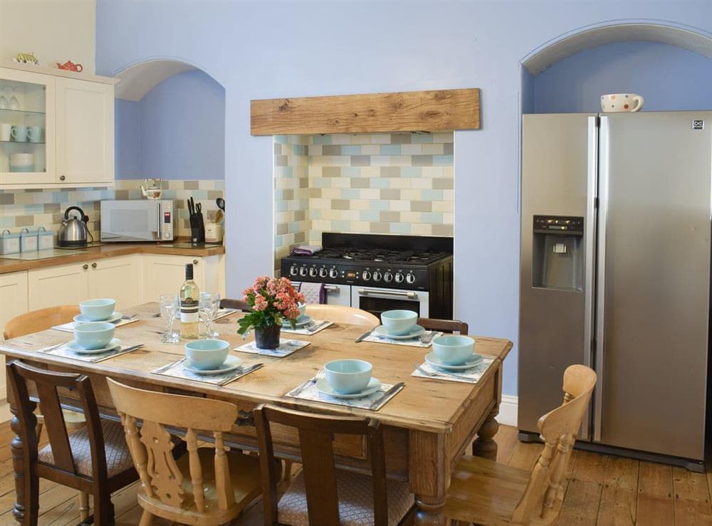 Spacious kitchen and dining room at Hidden Treasure,