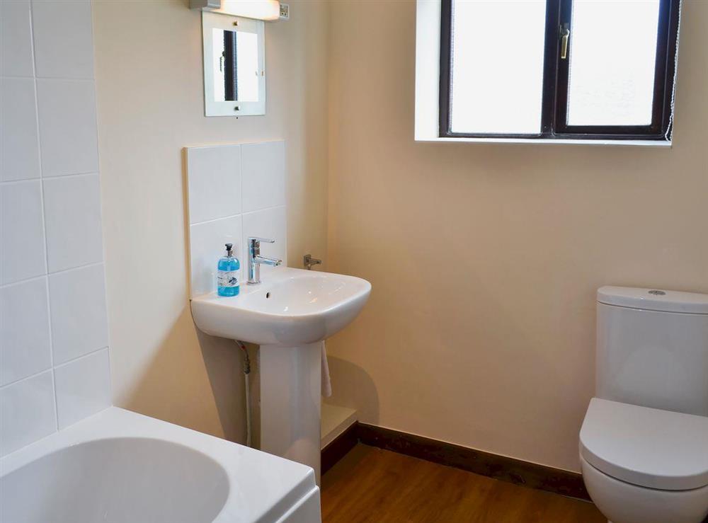 Bathroom at Flint Barn,