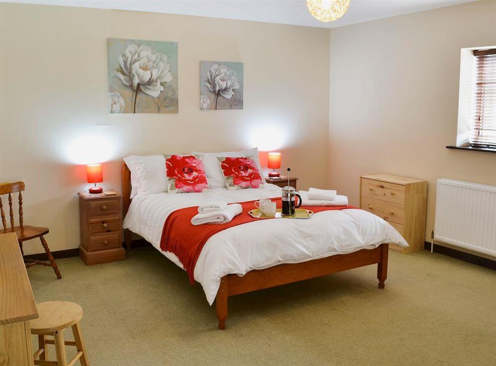 Double bedroom at Flint Barn,
