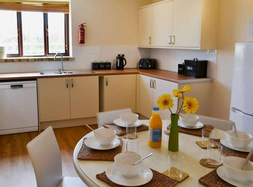 Kitchen and dining area (photo 2) at Flint Barn,