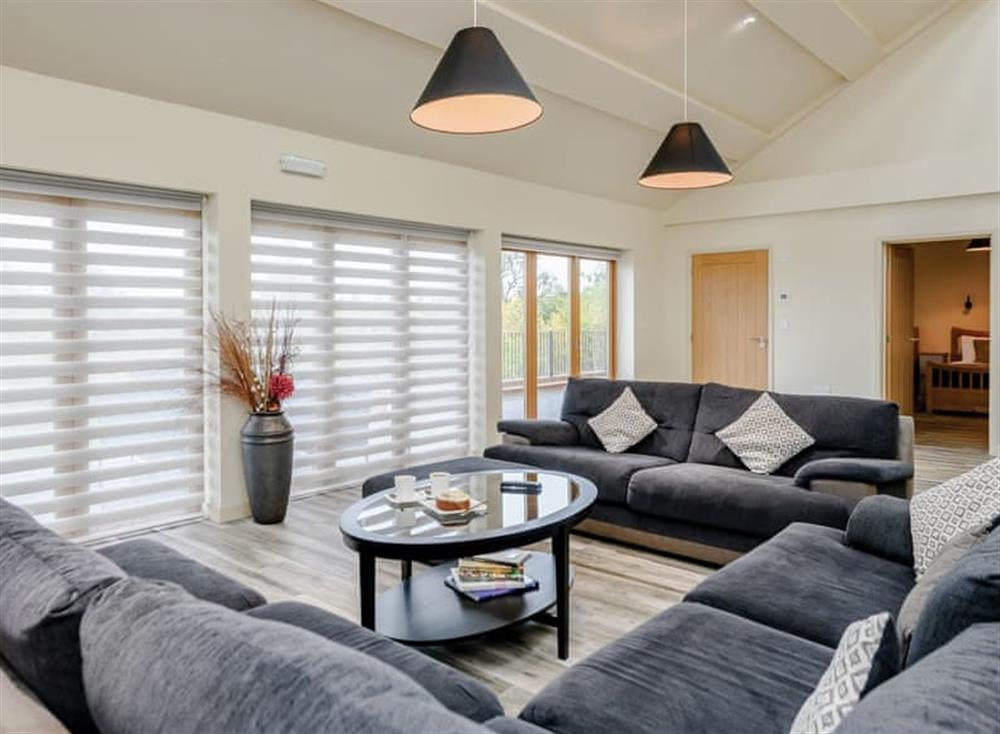 Comfortable living space at Holton Barn,