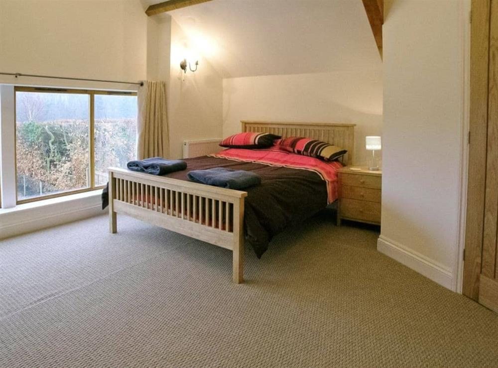 Double bedroom at Willow Barn in Neatishead, Norwich, Norfolk., Great Britain