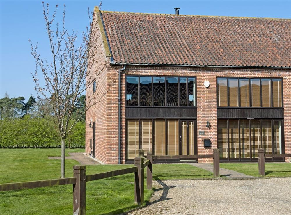 Exterior at Willow Barn in Sculthorpe, Norfolk. , Great Britain