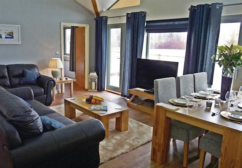 Swan Lodge at Willow Lakes Lodges in Lincolnshire, East of England