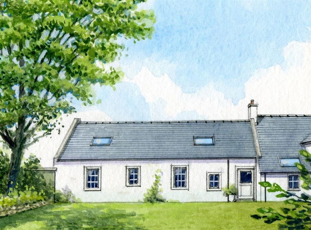 Artist Impression at Windmills End in Mauchline, Ayrshire