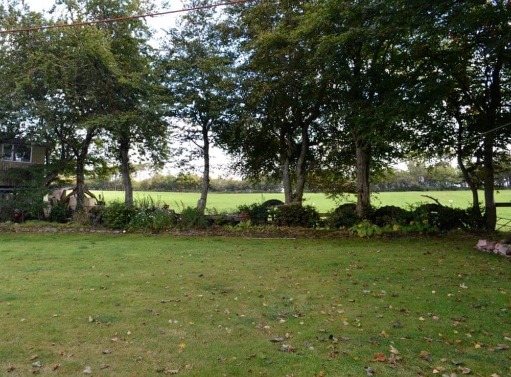 Garden at Windmills End in Mauchline, Ayrshire
