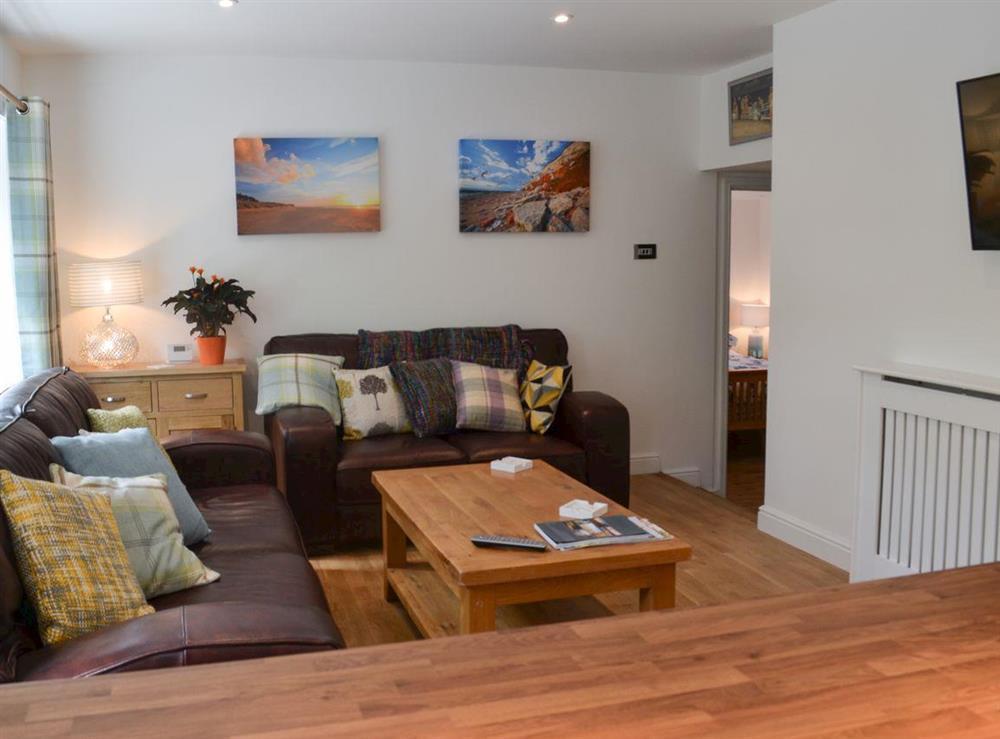 Living room at Winston Cottage in Hunstanton, Norfolk