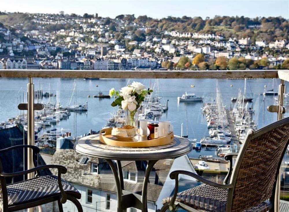 Balcony (photo 2) at Woodbine House in Dartmouth & Kingswear, South Devon