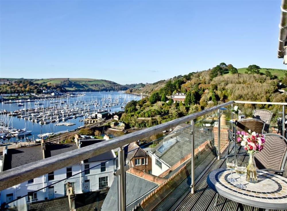 Balcony at Woodbine House in Dartmouth & Kingswear, South Devon