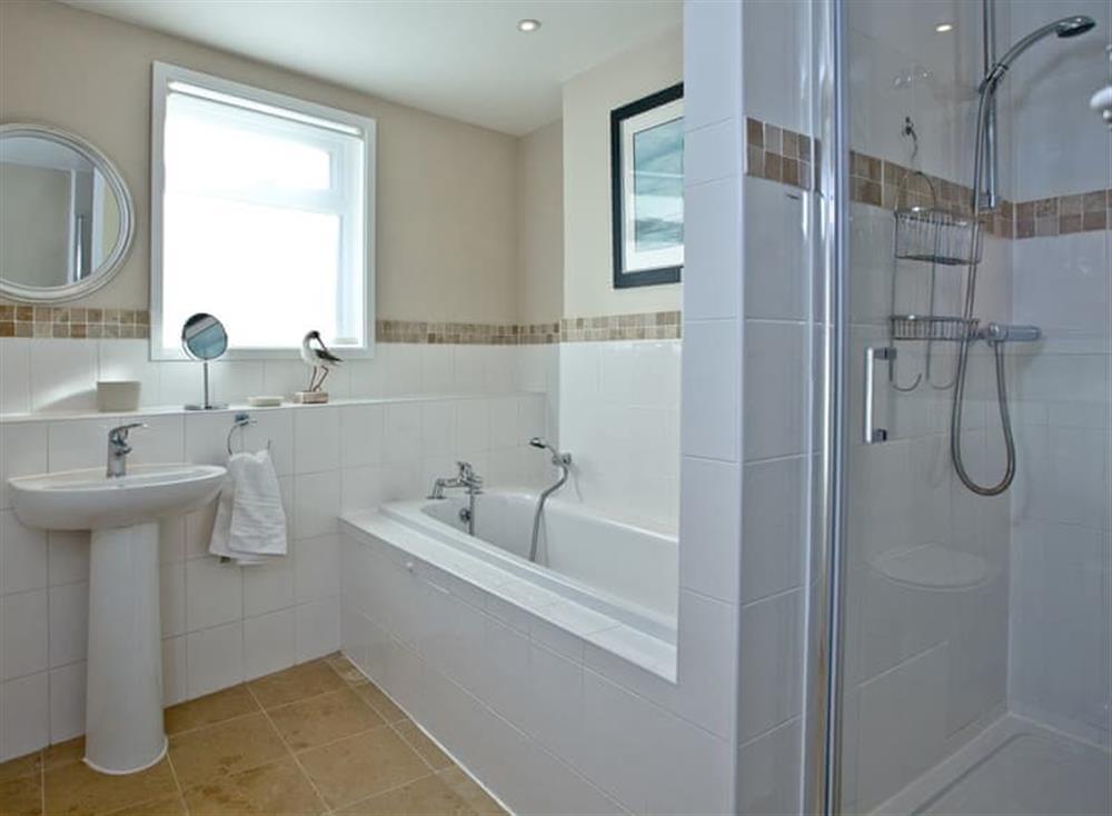 Bathroom at Woodbine House in Dartmouth & Kingswear, South Devon