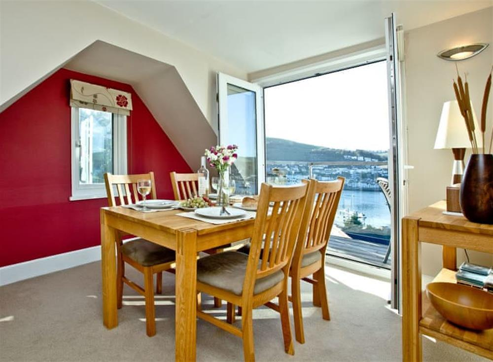Dining Area at Woodbine House in Dartmouth & Kingswear, South Devon
