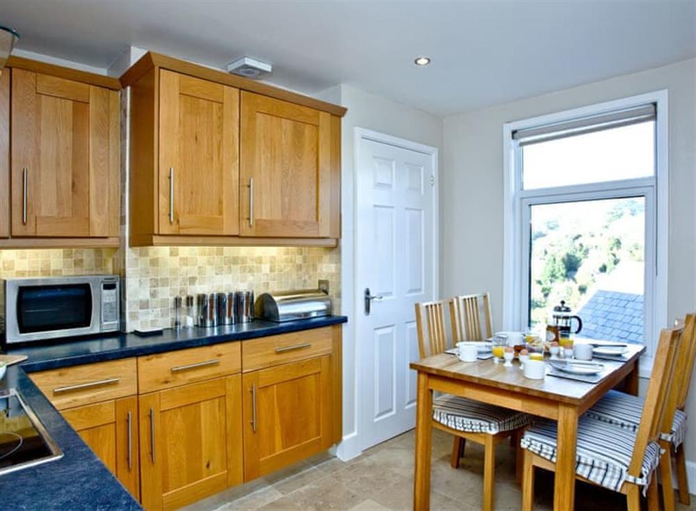 Kitchen/diner at Woodbine House in Dartmouth & Kingswear, South Devon