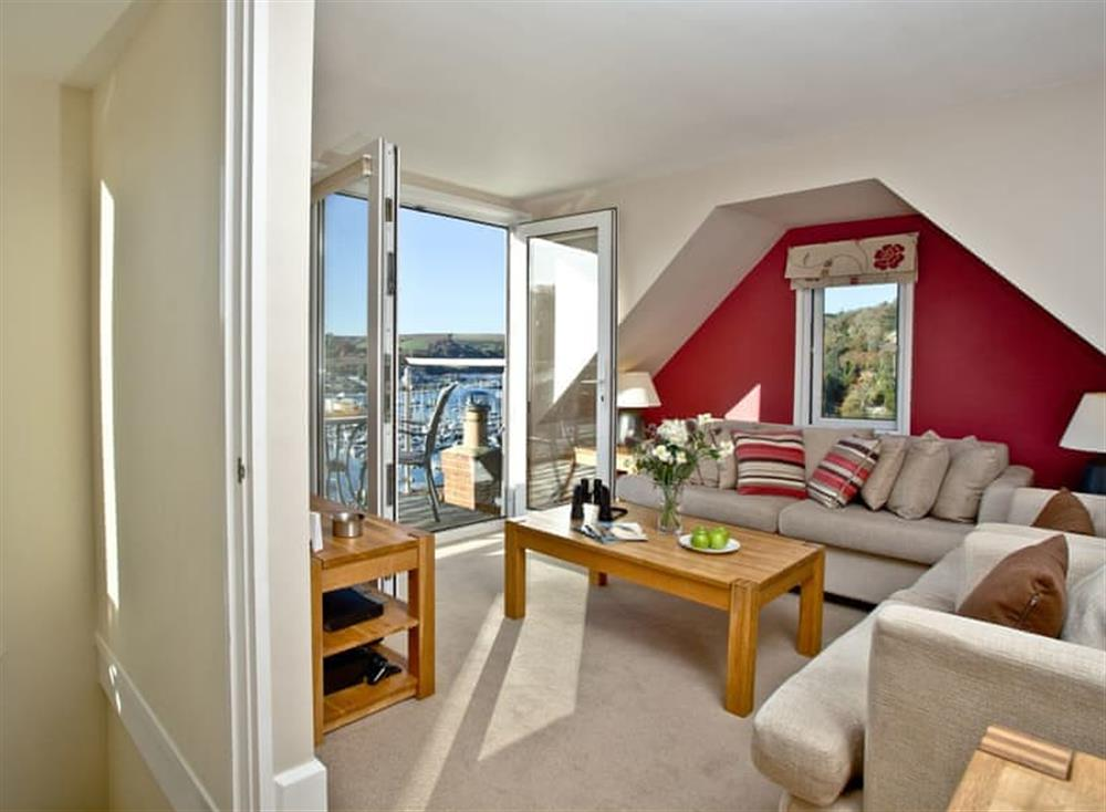 Living area (photo 3) at Woodbine House in Dartmouth & Kingswear, South Devon