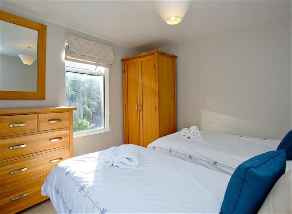 Twin bedroom (photo 2) at Woodbine House in Dartmouth & Kingswear, South Devon
