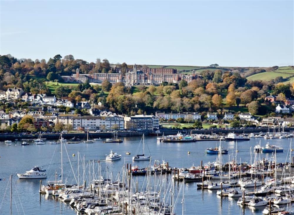View at Woodbine House in Dartmouth & Kingswear, South Devon