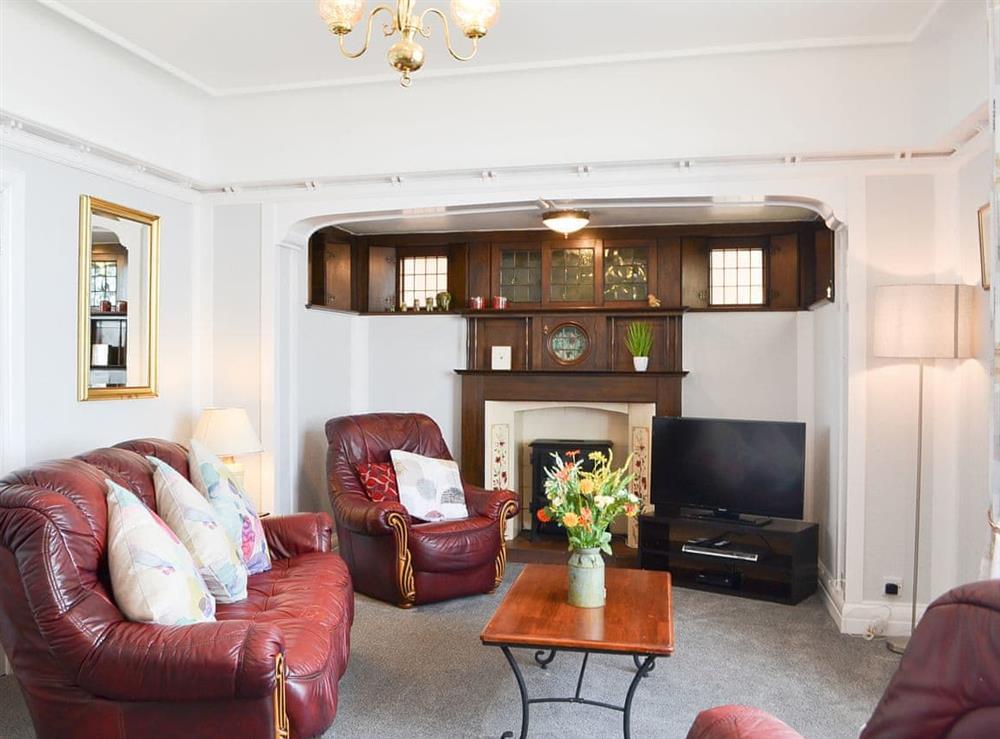 Living room at Woodcroft in Bridlington, North Humberside