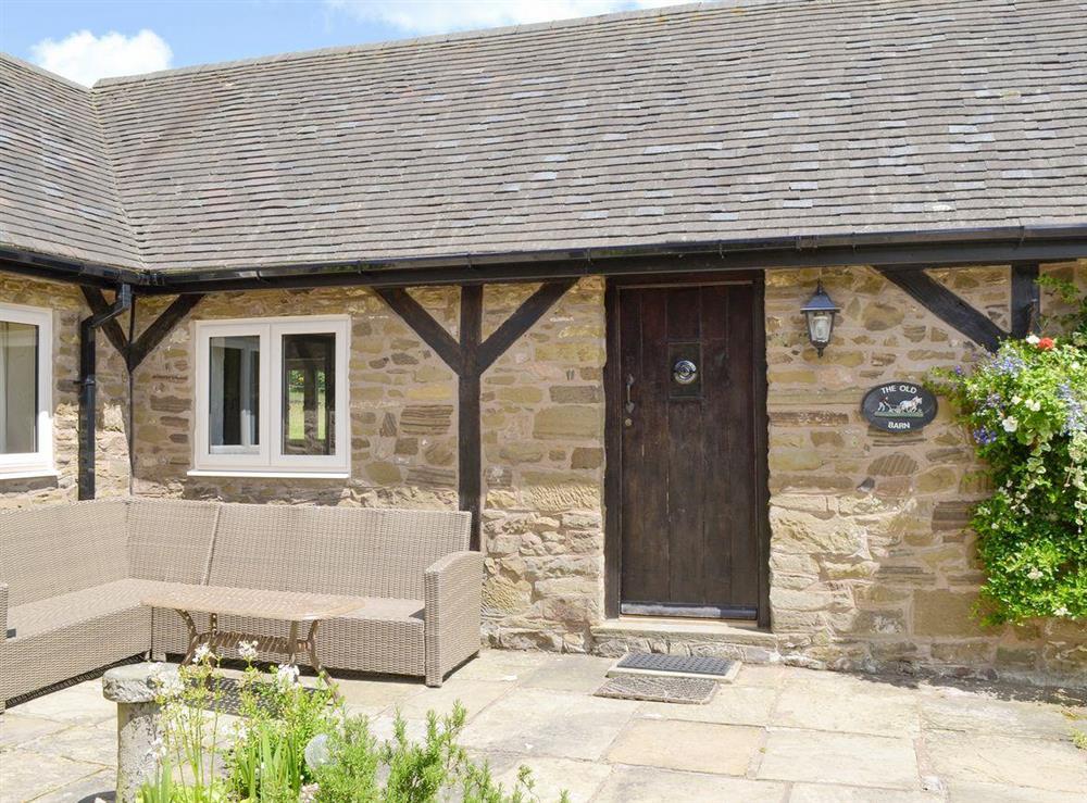 Characterful stone barn conversion at The Old Barn,