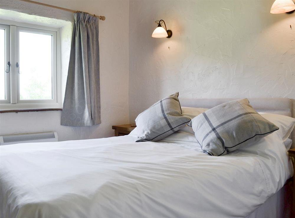 Comfortable double bedroom at The Old Barn,