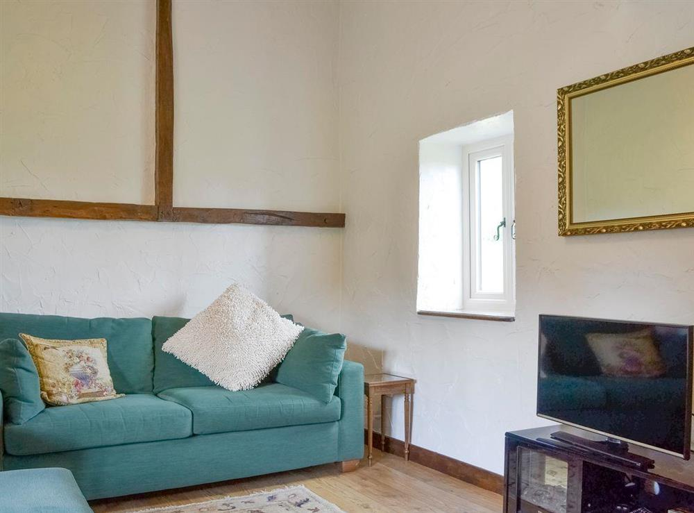Comfy living area at The Old Barn,