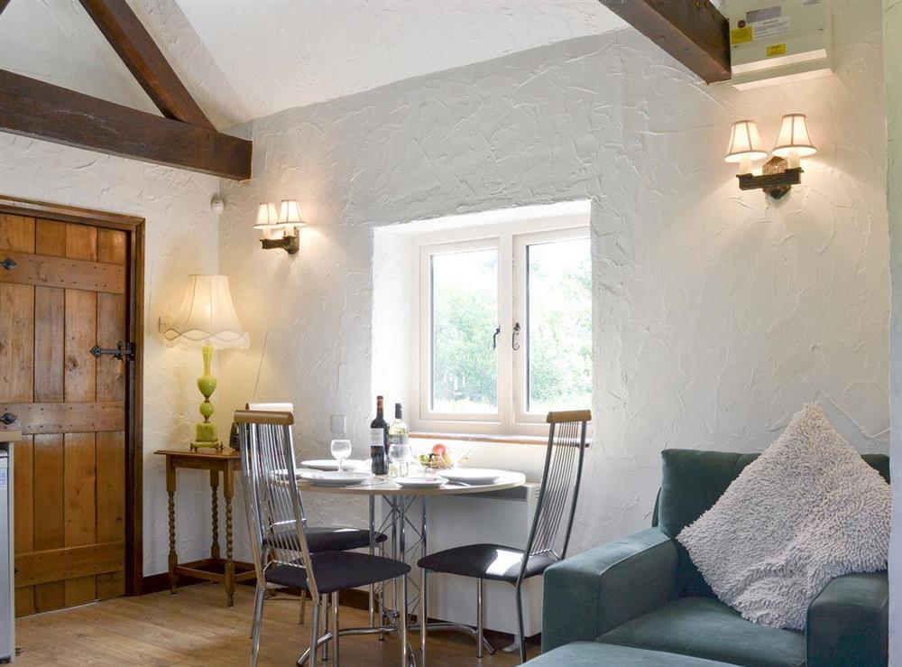 Convenient dining area at The Old Barn,