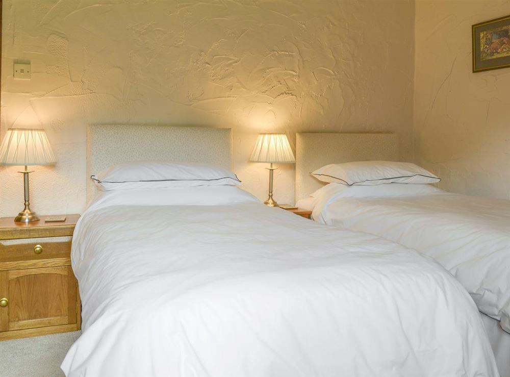 Good sized twin bedroom at The Old Barn,