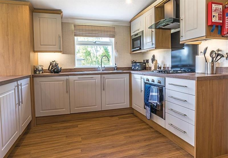 Lakeside 3 at Woodhall Country Park Lodges in Woodhall Spa, Lincolnshire