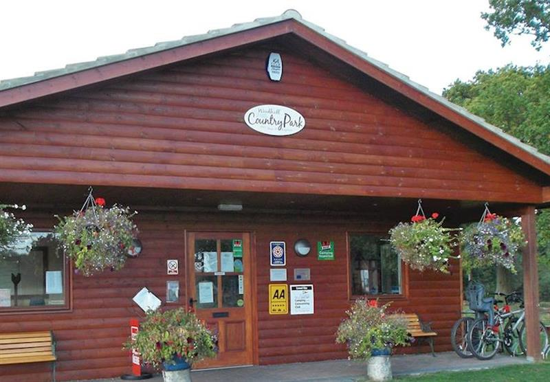 Reception at Woodhall Country Park Lodges in Woodhall Spa, Lincolnshire