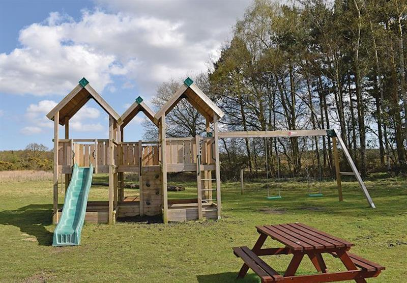 The park setting (photo number 4) at Woodhall Country Park Lodges in Woodhall Spa, Lincolnshire